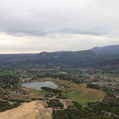 Great view overlooking Durango, Colorado! I love this town! #durango #views #cool #summer #hiking