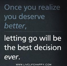 Letting go of all of the things that do not serve you and your highest good is one of the most loving things that you can do for yourself.