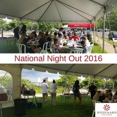 We had a great time at #NationalNightOut! Thanks to everyone who donated to this terrific event and to all the residents who came out to meet their neighbors!