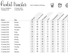 Habit tracker of Bureau Up - track your habits and get insight and more focus Insight, Track, Templates, Digital, Words, Stencils, Runway, Truck, Vorlage