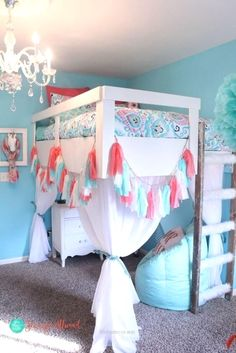 Splendid These best teenage girl bedroom designs are meant to have enough suggestions for you to mix and match and design the bedroom your kid will love, but you will too. For more ideas go to hackthehut.com #TeenageGirlBedrooms The post These best teenage girl bedroom de ..