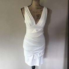 Cute summer dress by NIKIBIKI Cream color size small. Nikibiki Dresses Midi