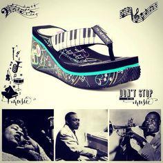 Fleurty Girl - Everything New Orleans - Basie Sandal by Volatile - Footwear - Footwear & Accessories