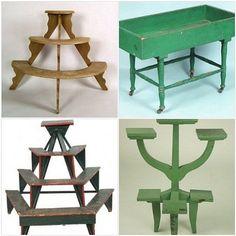 Plant Ladder Stand   Confessions of a Garden Challenged Decorista   Atticmag   Kitchens ...