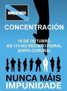 Concentración Nunca Máis! 2012