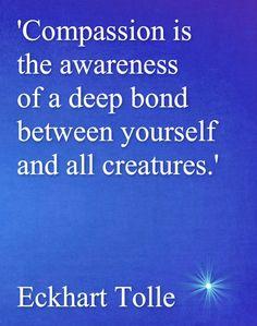 Eckhart Tolle Wisdom - Compassion