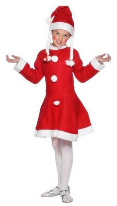 Little Miss Santa Costume - Child
