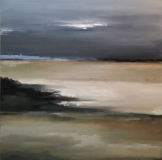 Lee Brooks, 'Calm Before the Storm', Mixed Media on Canvas, 36x36 - Anne Irwin Fine Art