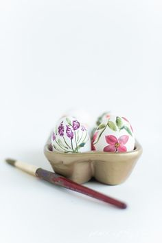 WATERCOLOR EASTER EGGS - PLACE OF MY TASTE