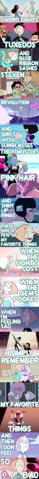 Pearl's Favorite Things