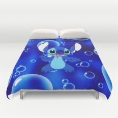 Lilo and Stitch Duvet Cover Lilo And Stitch, Beach Mat, Duvet Covers, Outdoor Blanket, Lelo And Stich