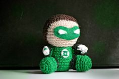amigurumi green lantern