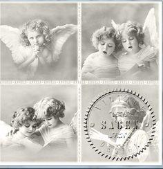 4 änglar - Middagsservett