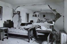 Cutremurul din 1940 a fost un cutremur cu magnitudinea de 7,4 grade pe scara Richter, produs la ora 3:39 dimineața,pe data de 10 noiembrie 1940, cu epicentrul în zona Vrancea, la o adâncime de circa 133 km. A fost primul mare cutremur din România contemporană, având o durată de 45 de secunde. Efecte Noiembrie, Couch, Bed, Furniture, Home Decor, Decoration Home, Room Decor, Sofas, Home Furniture