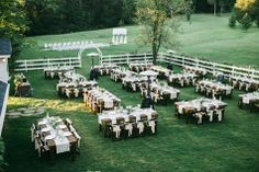 Outdoor Reception Setup | Cedarwood Weddings | Nyk  Cali Wedding Photographers | TheKnot.com
