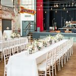 Saxapahaw River Ballroom Wedding by Robyn Van Dyke