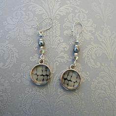 dental xray earrings