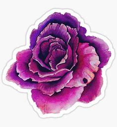Flower Pegatina