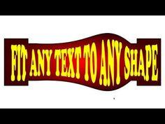 Fit Any Text To Any Shape CorelDraw Basic Easy Tutorial Tutorials For Beginner corel draw, coreldraw (software), design (industry), logo design, coreldraw. What Is Graphic Design, Logo Tutorial, Draw Logo, 3d Logo, Communication Design, Interface Design, Photo Effects, Coreldraw, Design Thinking