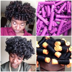 How to flawless protective rod sets on natural curly hair which color perm rod do you like to buy yellow orange teal solutioingenieria
