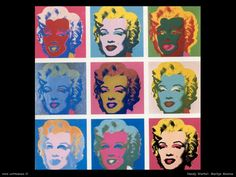 Marilyn Monroe by Andy Warhol. Andy Warhol is the iconic designer during the Pop Art era. Andy Warhol Marilyn, Andy Warhol Pop Art, Andy Warhol Obra, Art Marilyn Monroe, Designers Gráficos, Cultura Pop, Art Plastique, American Artists, Art Google