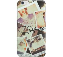 taylor swift 1989 signature iPhone Case/Skin