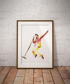 Elvis Vector Illustration Print
