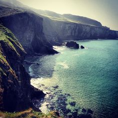 """Photo from the Instacanvas gallery for rachlove."" As cool as long beaches are, I love tall cliffs, and the way they look."
