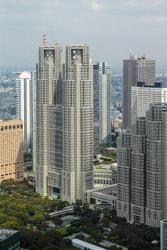 Tokyo Metropolitan Government Building, Shinjuku, Tokyo, Japan