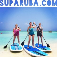 Paddleboarding is fun for everyone at Stand Up Paddle Aruba!     www.SUPARUBA.com