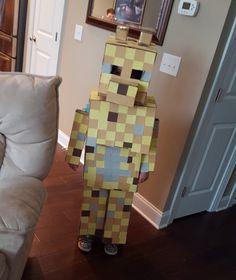 Minecraft Ocelot costume affordable kids Halloween costume ideas