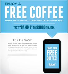 Books-a-Million: FREE Tall Coffee (Text Offer) - http://www.dealiciousmom.com/books-a-million-free-tall-coffee-text-offer/