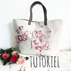 Couture Sewing, Sewing Art, Jute Bags, Summer Bags, Diy Accessories, Small Bags, Purses And Bags, Sewing Projects, Creations