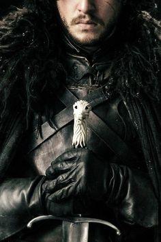 I am the sword in the darkness  Kit Harington aka Jon Snow, Game of Thrones