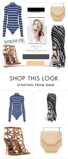 """""""Preen, M2Matellier & DSquared 2"""" by nfabjoy ❤ liked on Polyvore featuring Preen, Dsquared2, M2Malletier and bodysuit"""
