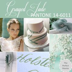 {Pantone Fashion Color Report}: Grayed Jade - PANTONE 14-6011 http://www.theperfectpalette.com/2012/10/pantone-fashion-color-report-spring-2013.html