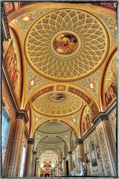"""Hermitage - St. Petersburg, Russia • """"Gallery of the History of Ancient Painting"""" by Lappeen Ranta on http://500px.com/photo/11942181"""