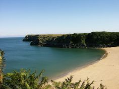 Barafundle beach, Pembrokeshire, West Wales © National Trust Stackpole