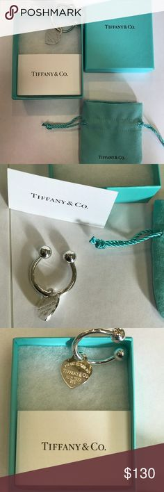 Tiffany & Co. KeyChain Brand new. Authentic. Tiffany & Co. Accessories Key & Card Holders