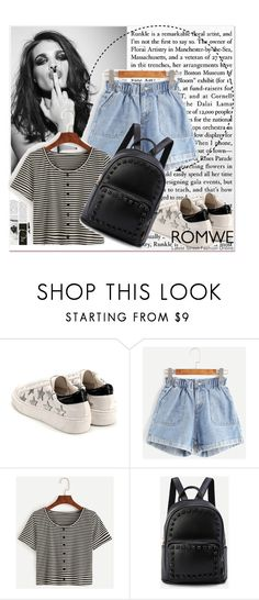 """""""Romwe 8/ 10"""" by emina-095 ❤ liked on Polyvore featuring Whiteley"""