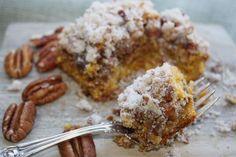 low FODMAP & gluten free pumpkin crumb cake! YUMMMM
