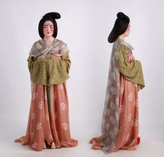 Outfit for women in Tang dynasty