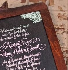 Think outside of the box when it comes to your wedding invitation. The invitation sets the tone for the entire event.