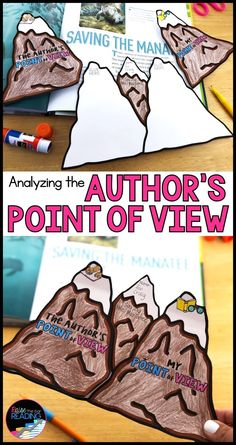 If children were reading about volcanoes, once finished, students could create their own volcanoes and label the different parts of it using knowledge from text. (pin is used to simply show an example of volcano). Social Studies Projects, Teaching Social Studies, Teaching History, Teaching Science, History Interactive Notebook, Social Studies Notebook, Authors Point Of View, Teaching Reading, Reading Skills