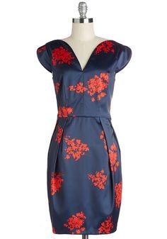 Bold is Beautiful Dress | Mod Retro Vintage Dresses | ModCloth.com