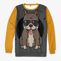 Pitbull Dad Products from Sam Shop Pitbulls, Dads, Store, Sweatshirts, Sweaters, Shopping, Products, Fashion, Parents