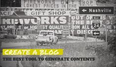 Create a blog the best tool to generate contents
