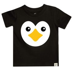 Just Another Tee Penguin Six Whimsical Character Penguins Can/'t Fly Statement Babygrow Vest