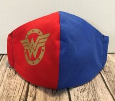 Wonder Woman Face Masks - Hand-Made, Washable, Double Layered Cotton Womens Batman Comic Art, Batman Robin, Wonder Woman Birthday, Wonder Woman Art, Jason Todd Batman, Crochet Mask, Poison Ivy Batman, Justice League Wonder Woman, Nightwing