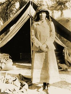 Gertrude Bell - Explorer and Archeologist. She LED many expeditions through the Middle east and Africa at a time when women didn't lead anything and though I don't agree with all of her world views she was one of the most interesting women of all time. She counseled many kings and Lawrence of Arabia himself.